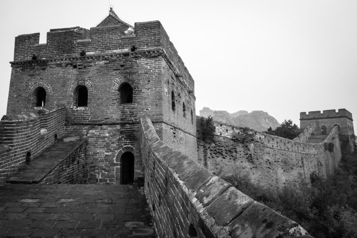 La grande muraille de Chine à Jingshanling (partie restaurée)