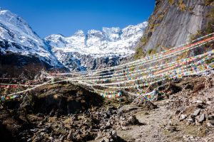 Chemin vers la Sacred Waterfall
