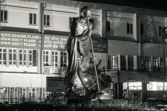 Statue de Gandhi, Port Blair