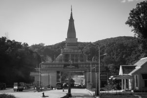 No man's land entre la Chine et le Laos (Mohan - Boten)