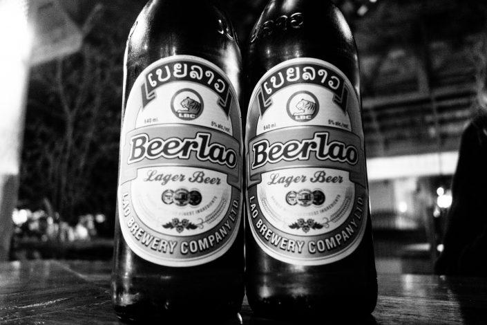 La Beerlao, de loin la meilleure bière qu'on ait bue depuis notre départ !