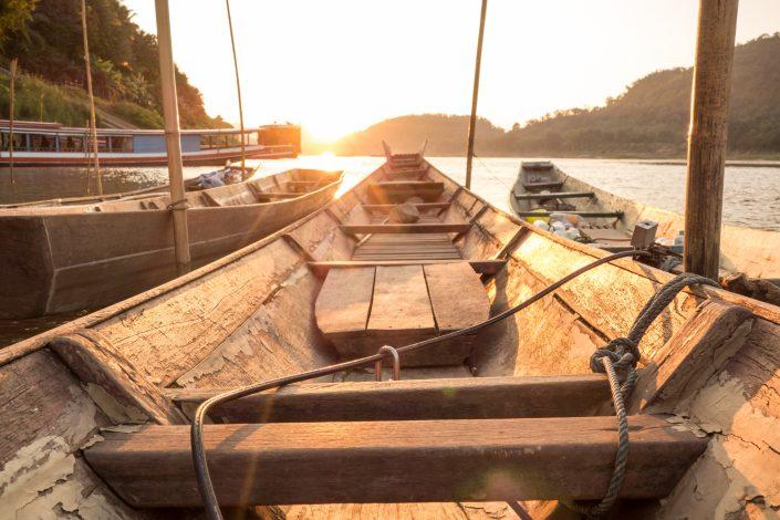 Coucher de soleil à Luang Prabang
