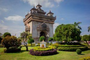 Patuxai, Arc de Triomphe de Vientiane