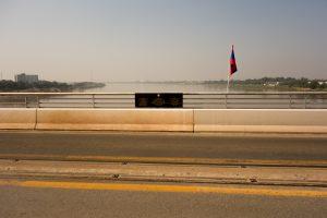 Pont de l'amitié entre Vientiane (Laos) et Nong Khai (Thaïlande)