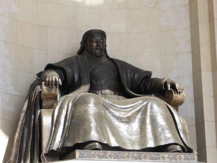 Statue de Genghis Khan, Genghis square, Oulan Bator