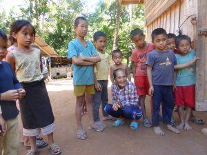 Village laotien