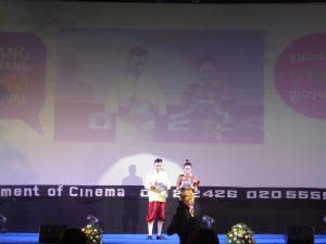 Cérémonie d'ouverture du festival sud-est asiatique de Luang Prabang