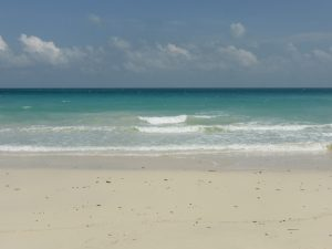 Les nuances de bleu de Kalapathar Beach