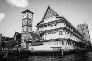 Temple sur la Chao Praya