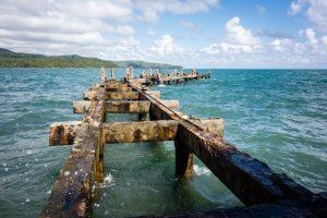 Dans le port de Port Blair