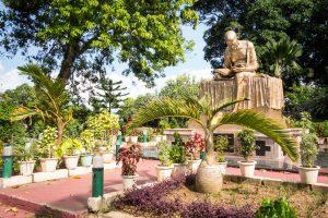 Statue de Gandhi dans Gandhi Park