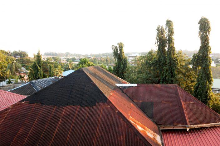 Les toits de Port Blair