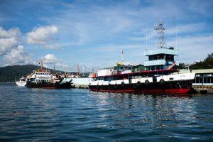 Jetée de Port Blair