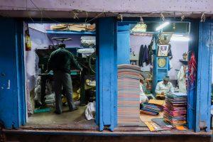 Imprimerie dans Old Delhi