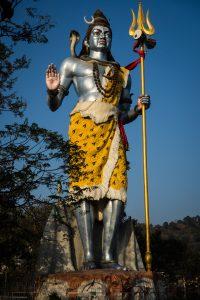 Statue de Shiva, Haridwar