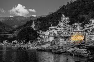 Bords du Gange à Rishikesh