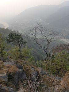 Vue sur Rishikesh