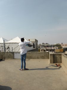 Kite festival sur les toits de Jaipur