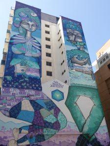 Gigantesque mur peint