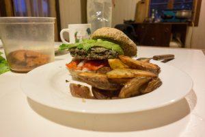 Bean burger (miam !)