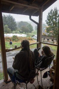 A regarder la pluie tomber