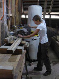 Atelier charpenterie