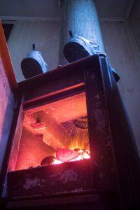 Notre feu (système archaïque mais très efficace !)