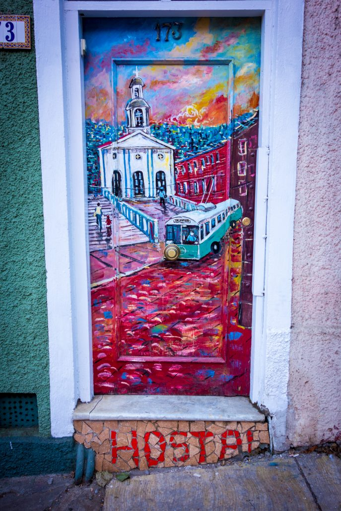 Street Art (en escaladant la colline)