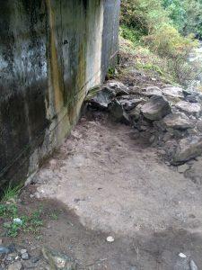 Là où nous avons posé la footprint