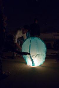 Vole, vole, petit lanterne