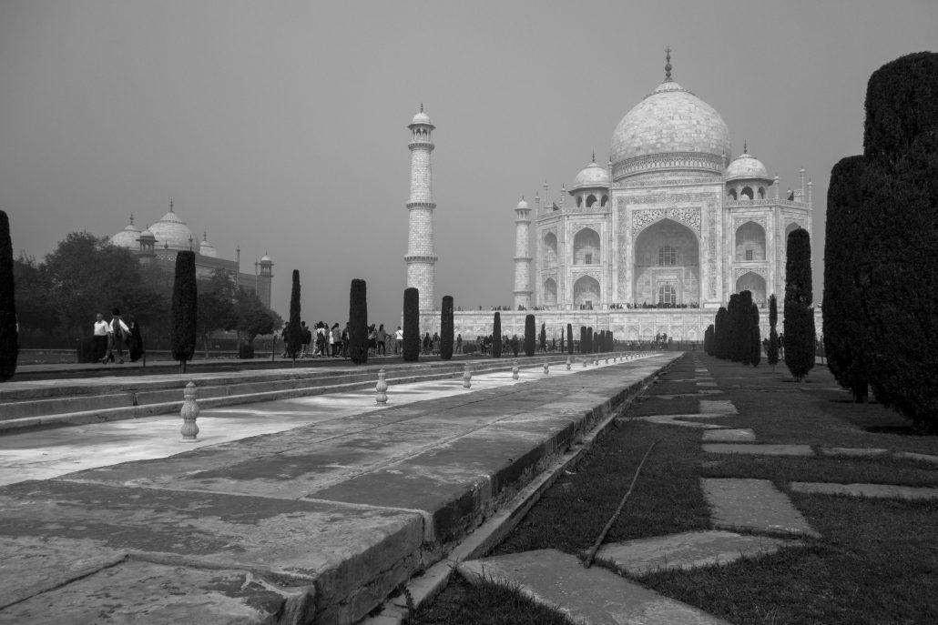 Le Taj Mahal (sans les travaux)