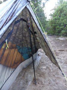 Nouveau système de portage de la tente