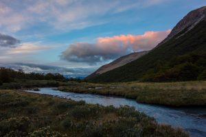 Lever de soleil depuis le camping Neozelandais
