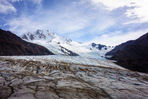 Première marche sur un glacier