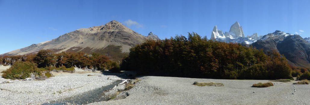 Sentier Laguna de Los Tres