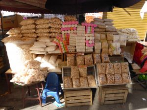"""Etal de """"Granola"""", Mercado Campesino"""