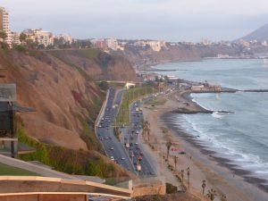 Bord de mer de Lima