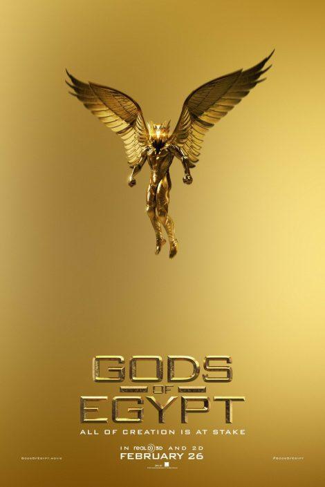 Gods of Egypt...