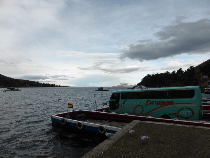 Traversée du lac Titicaca entre La Paz Copacabana
