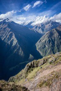 Montagnes vertes péruviennes
