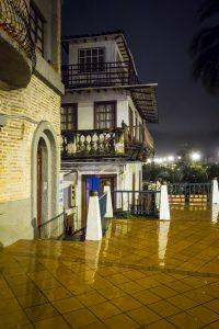 Cuenca sous la pluie