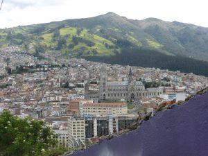 Vue sur Quito depuis le parc Itchimbia