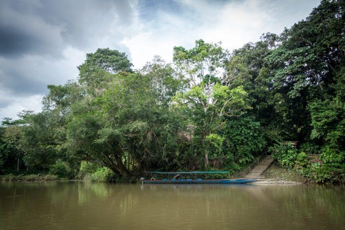 Balade en bateau le long du Napo