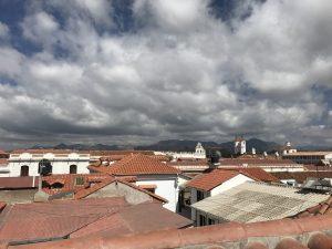 Les toits de Sucre (un petit côté lyonnais)