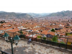 Point de vue sur Cusco