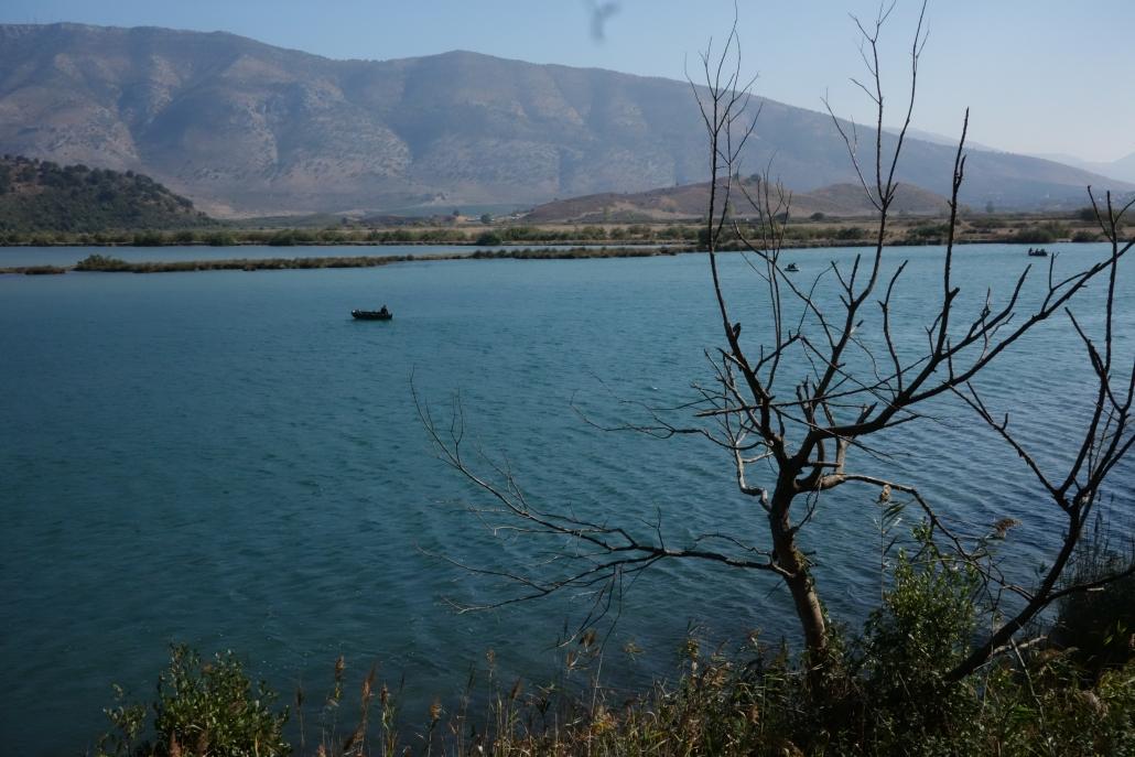 Vue depuis le site de Butrint