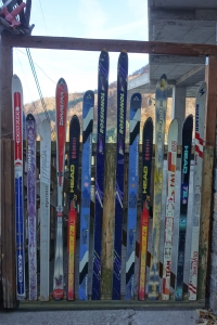 Skis au village de Dardha