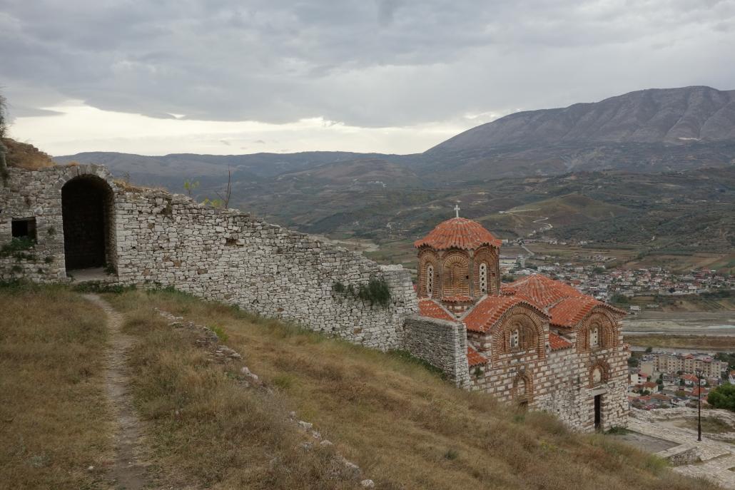 Eglise de la citadelle de Berat